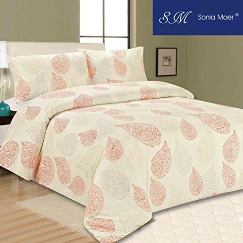 Sonia MOER Premium Bettbezug Set–Happy Fall, Einzelbett