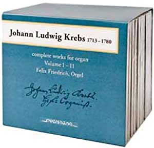 Krebs: Complete Works for Organ Vol 1-11