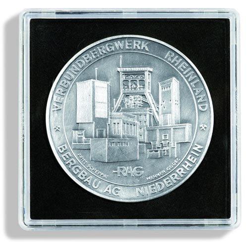 Leuchtturm Cápsulas de Monedas QUADRUM Mini 12 mm, Paquete de 10