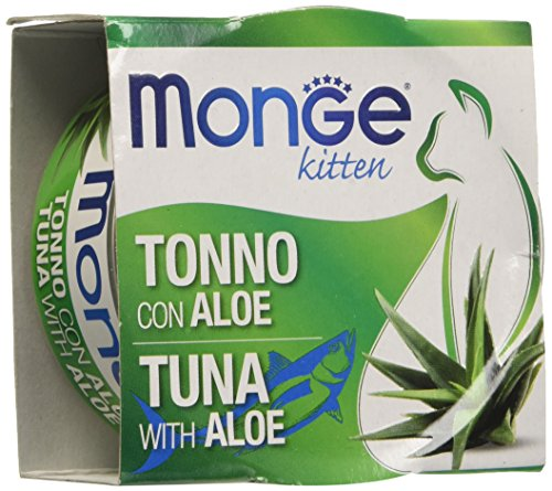 Monge Fruits per Gatti - Tonno/Aloe - Gr. 80 (1 Lattina)