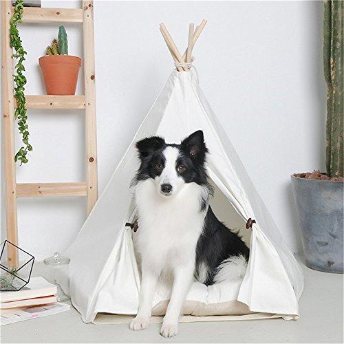 Ruick Pet - Tienda Campaña India Algodón Perros
