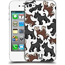 Head Case Designs Schnauzer Gigante Modelli Razze Canine 11 Cover Retro Rigida per Apple iPhone 4 / iPhone 4S