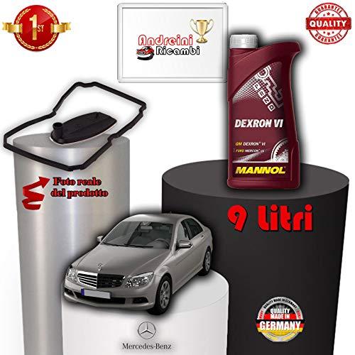 KIT FILTRO CAMBIO AUTOMATICO E OLIO C 320 CDI W204 165KW 2014 -> /1015