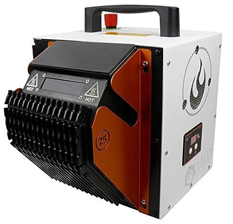 Haloblaze Hdtr Gaine thermorétractable Traitement machine–Heavy Duty Heat Shrink processeur avec interface d'écran tactile numérique