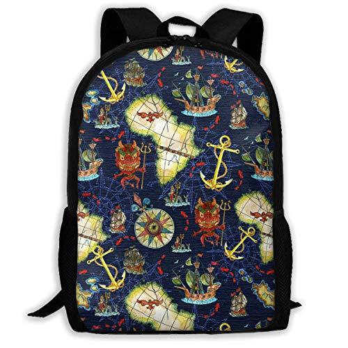 Segelschiffe Anker Rucksack Kinder Cool Schultasche Muster Mädchen Jungen Tagesrucksack