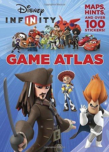Disney Infinity Game Atlas (Disney Infinity) (Deluxe Reusable Sticker Book) by RH Disney (2014-12-23)
