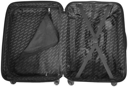 Leichtes ABS Hartschalen Kofferset Marke normani® in verschiedenen Farben wählbar! Dunkelblau