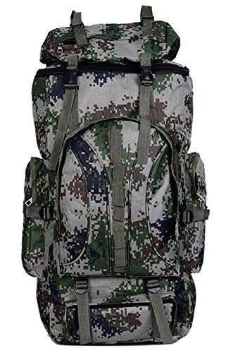 Camouflage Rucksack Damen und Herren Wasserdicht Armee essgruppen Große Kapazität Bergsteigen Outdoor Rucksack Militär Equipment