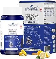 Neuherbs Deep Sea Omega 3 Fish Oil 2500 Mg (Omega 3 1486 mg; 892 mg EPA; and 594 mg DHA per serving) : 60 Soft