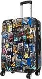 Koffer L New All City 67x46x27cm + 20% Erweiterbar mit Dehnfalte Hartschale Reisekoffer Trolley Bowatex