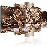 murando - Cuadro en Lienzo 100x50 cm - Mapa - Impresion en calidad fotografica -...