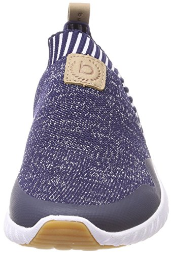 Bugatti 441393616935, Scarpe da Ginnastica Basse Donna Blu (Blue/ Sand)
