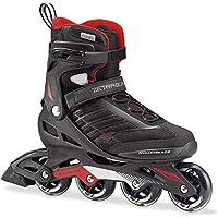 Rollerblade 07736600_741, Pattino in Linea Uomo, Nero Rosso, 285 cm