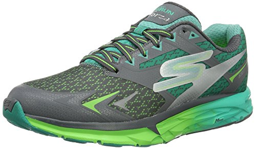 Skechers Go Run Forza, Chaussures Multisport Outdoor Homme Gris (Ccgr)