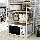 WXP Kitchen furniture - Mikrowellenherd-Gestell-Küche-Versorgungsmaterialien-Edelstahl-Ausgangs-Multifunktionslagerungsgestell -Küchenschränke und Besteckschränke