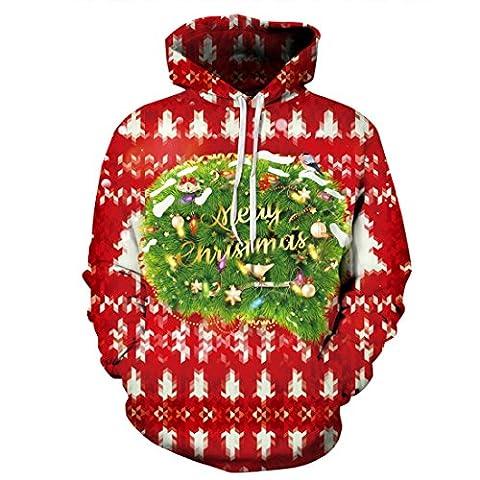 Les Hommes De Noël Laide oyeux Noël Pull Sweats à