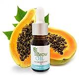 Brow Henna ÖL Augenbrauen Öl-Pflege mit Vitamine - Wachstum - Wimpern und Augenbrauen