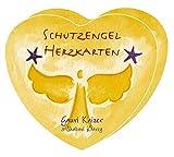Schutzengel-Herzkarten: 49 farbige Herzkarten im Format 9 X 10 cm in Herzbox
