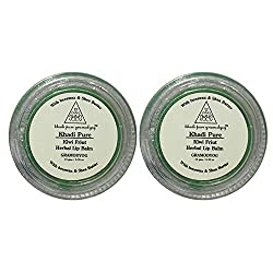 Khadi Pure Herbal Kiwi Lip Balm - 10g (Set of 2)