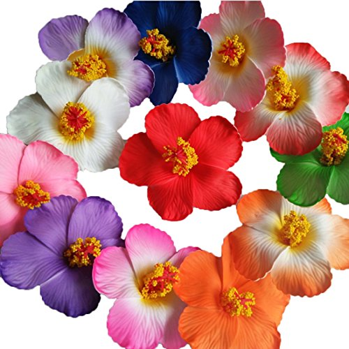 Calcifer-24-pcs-276-hawaiano-espuma-artificial-Plumeria-Frangipani-flores-cabezales-para-casa-jardn-decoracin-para-boda-fiesta