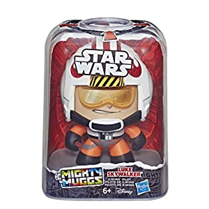 Star Wars- Mighty Muggs Luke Skywalker X-Wing, Color varié (Hasbro E2193ES0)