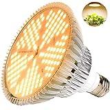 MILYN 600W LED Pflanzenlampe Vollspektrum Pflanzenlicht LED Grow Light, Achstumslampe ähnlich dem Sonnenlichts für Garten Gewächshaus Zimmerpflanzen