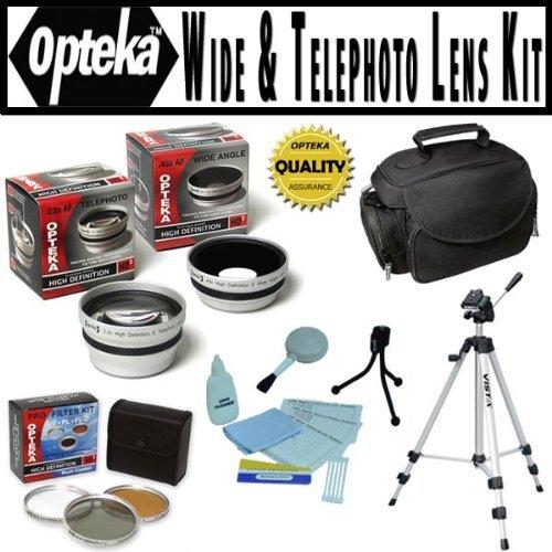 Opteka HD² digitale professionale kit di accessori per fotocamera Panasonic Lumix DMC-FZ100
