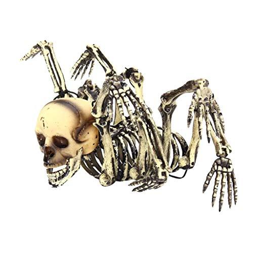 Altsommer Halloween Party Inneneinrichtung, die Spinnen Schädel Schreckliches Erschrecken Szenen Spielzeug - Lebens Brettspiel Kostüm