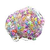 SO-buts Masilla esponjosa de slime, espuma de cristal transparente con...
