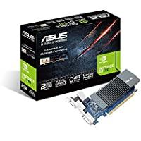ASUS GT710-SL-2GD5 GeForceGT 710 2 GB DDR5 Graphics with Passive 0 dB Efficient Cooling
