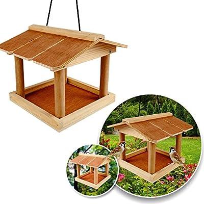 Bird Feeding Station Hotel Wild Bird Feeder Outdoor Window Table Meal Worm Solar by Elitezotec ©