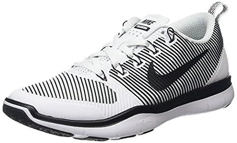 Nike Herren Free Versatility Fußballschuhe, Weiß (White/Black), 42.5 EU