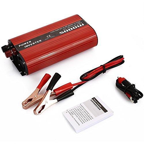 Sedeta DC12V zu AC220V 2000W Wechselrichter Sprungstarter USB Autoadapter Ladegerät für das Heimbüro Ladegerät für das Heimbüro