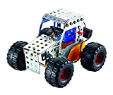 Metal Construction Model Kit Tractor Buggy Car 1xAA Battery Motor 103 durable parts real tools + picture instructions mechanical building set toy education learning age 8+ male boy STEM Tronico