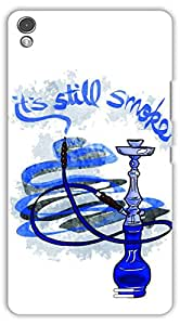 Crazy Beta Hookah Smoke design Printed mobile back cover case for Gionee S7