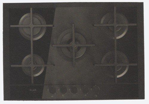 Whirlpool GOF 7523/TB Plaque - Plaque (intégré, gaz, verre, rotatif, Front, 230 V) Noir