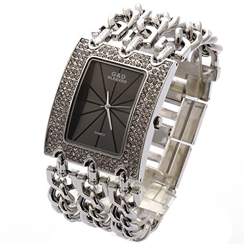 sheli-black-face-crystal-large-rectangle-silver-metal-womens-chic-links-bracelet-watch
