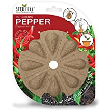 SeedCell CP08 Cayenne Chilli Pepper Seed - Red