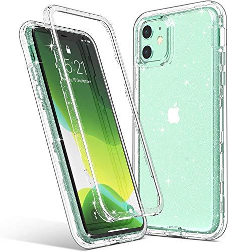 JAWSEU Compatibile con Samsung Galaxy A70 Silicone TPU Placcatura Diamante Bling Glitter con Supporto ad Anello Antiurto Ultra Sottile Morbida Gel Silicone Protettiva Bumper Custodia,Argento