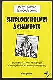 "Afficher ""Sherlock Holmes à Chamonix"""