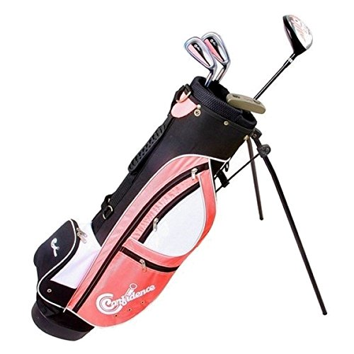 Confidence FWS Girls Junior Golf Right Hand Clubs Set With Bag