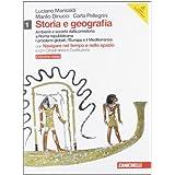 Storia e geografia. Ediz. rossa. Con DVD-ROM. Con espansione online. Con inserto cittadinanza. Per le Scuole superiori: 1