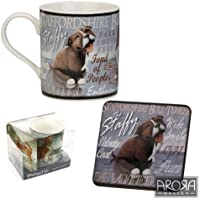 Staffy Staffordshire Bull Terrier 8312 & Mug