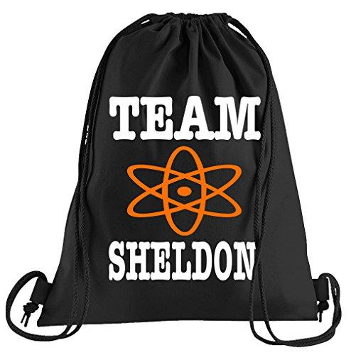 T-Shirt People Team Sheldon Sportbeutel - Bedruckter Beutel - Eine schöne Sport-Tasche Beutel mit Kordeln