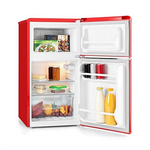 Klarstein • Monroe Red • Nevera frigorífico •
