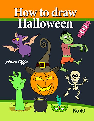 How to Draw Halloween Characters (How to Draw Cartoon Characters Book 40) (English (Stuff Cool Halloween)