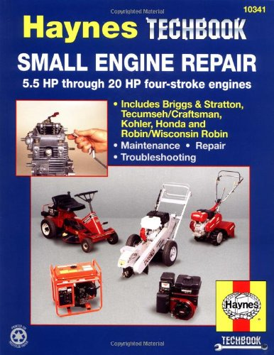 Small Engine Repair: 5.5 HP Thru 20 HP Four Stroke Engines (Haynes Manuals) (5.5 Hp Engine)