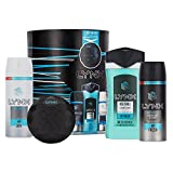 Lynx Ice Chill Trio, Bluetooth Shower Speaker , Christmas Gift Set for Men and teenagers, Stocking Filler