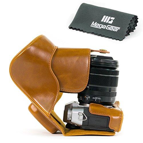 megagear-leder-kameratasche-fur-fujifilm-x-t10-mit-16-50mm-oder-18-55mm-kompakte-systemkamera-hellbr