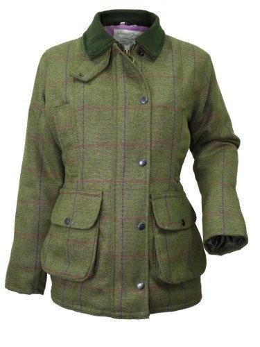 Veste pour femme Wood Green en tweed - Pour la chasse ou le tir - gris - 38